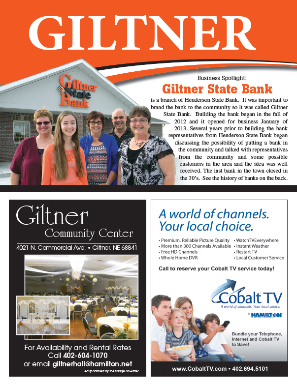 Giltner We-Prints Plus Newspaper Insert by Any Door Marketing