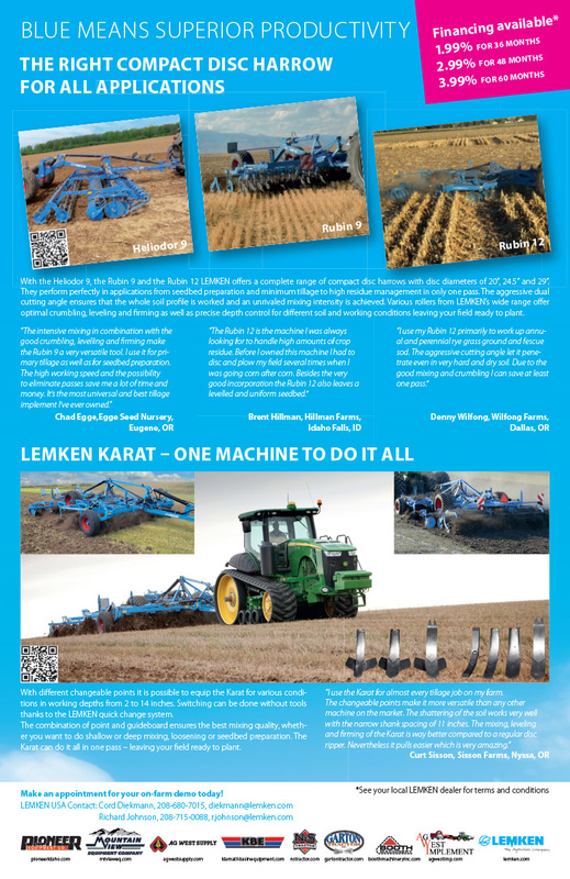 Lemken We-Prints Plus Newspaper Insert by Any Door Marketing