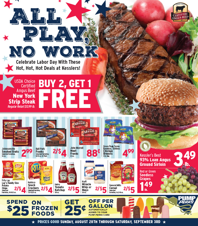 Kessler's Grocery We-Prints Plus Newspaper Insert by Any Door Marketing