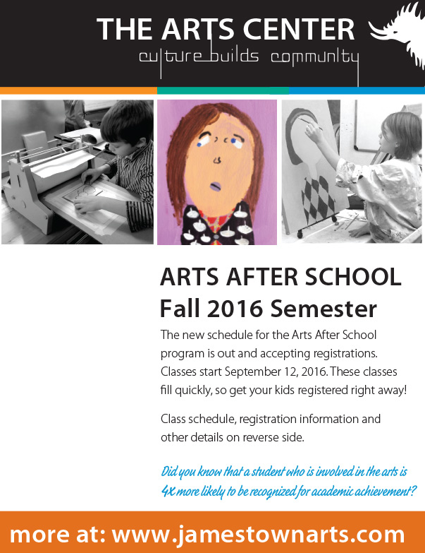 The Arts Center We-Prints Plus Newspaper Insert by Any Door Marketing