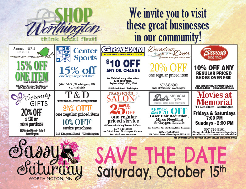 Worthington Shop Local We-Prints Plus Newspaper Insert by Any Door Marketing