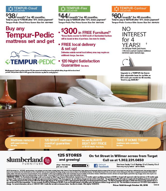 Slumberland Furniture We Prints Plus Newspaper Insert By Any Door Marketing