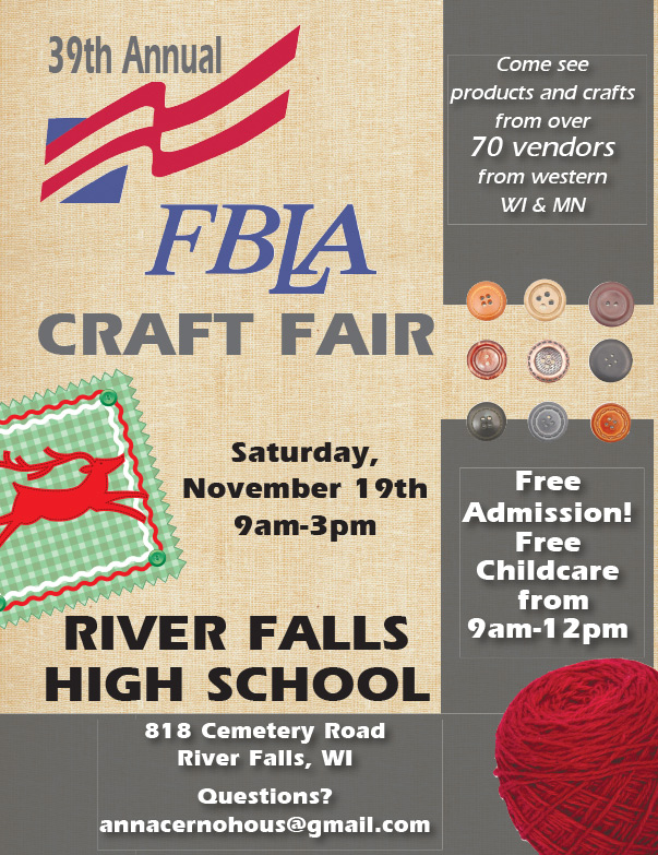FBLA Craft Fair We-Prints Plus Newspaper Insert by Any Door Marketing