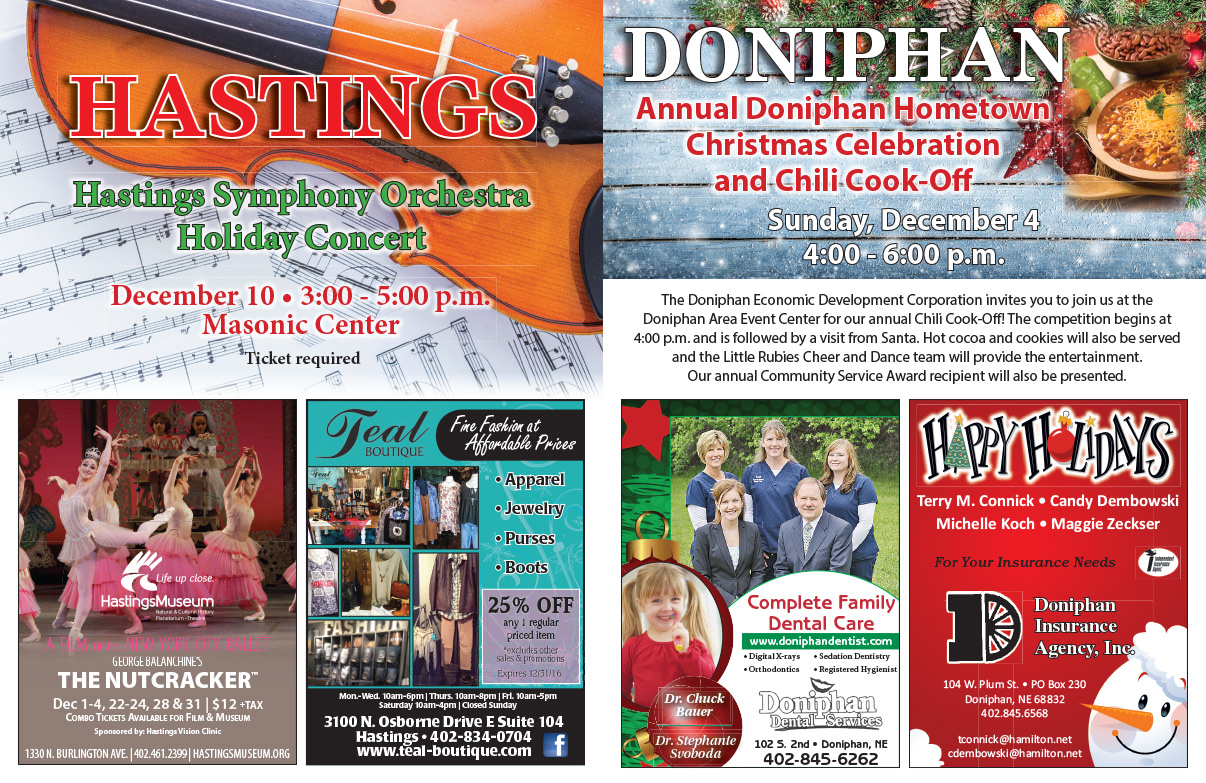Doniphan NE We-Prints Plus Newspaper Insert by Any Door Marketing