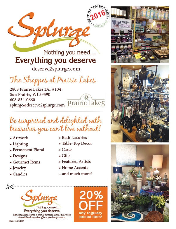 Splurge We Prints Plus Newspaper Insert By Any Door Marketing