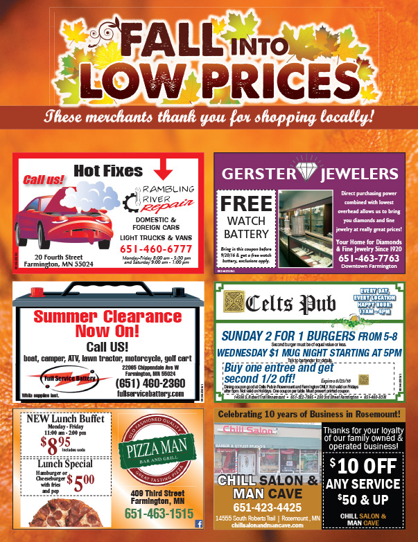 Farmington Shop Local We-Prints Plus Newspaper Insert by Any Door Marketing