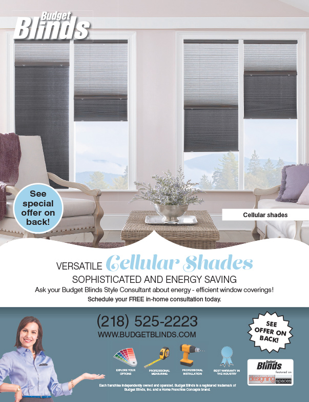 Budget Blinds We-Prints Plus Newspaper Insert, Any Door Marketing