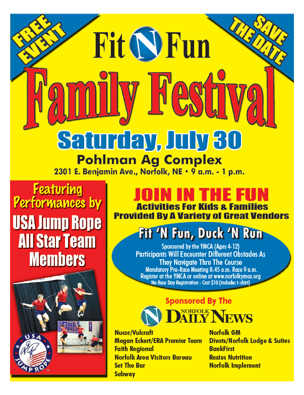 Fit N Fun Family Festival We-Prints Plus Newspaper Insert, Any Door Marketing