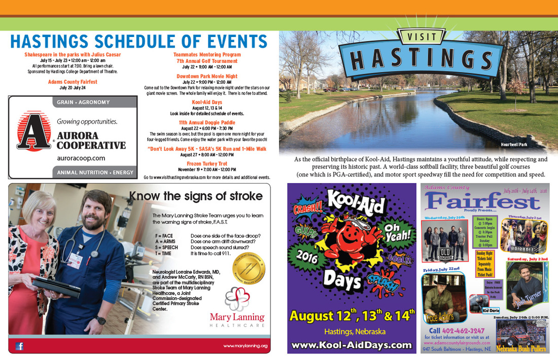 Visit Hastings We-Prints Plus Newspaper Insert, Any Door Marketing