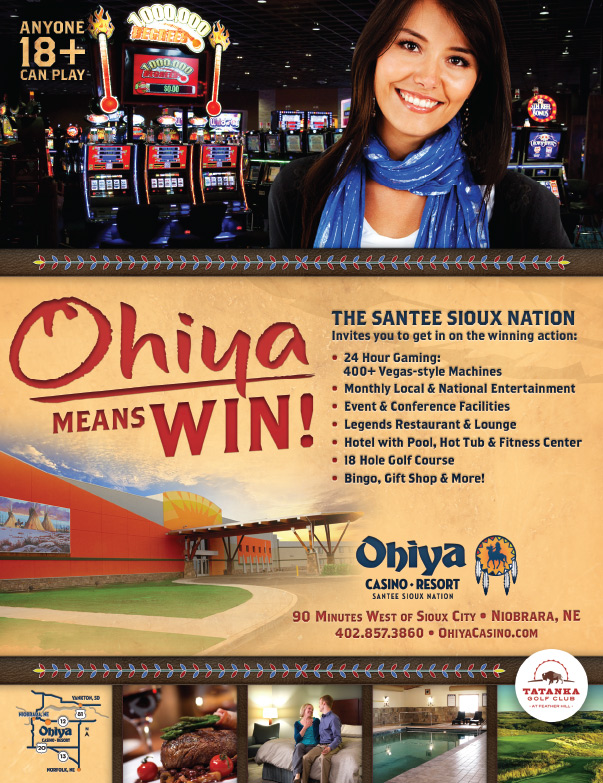 Ohiya Casino We-Prints Plus Newspaper Insert, Any Door Marketing