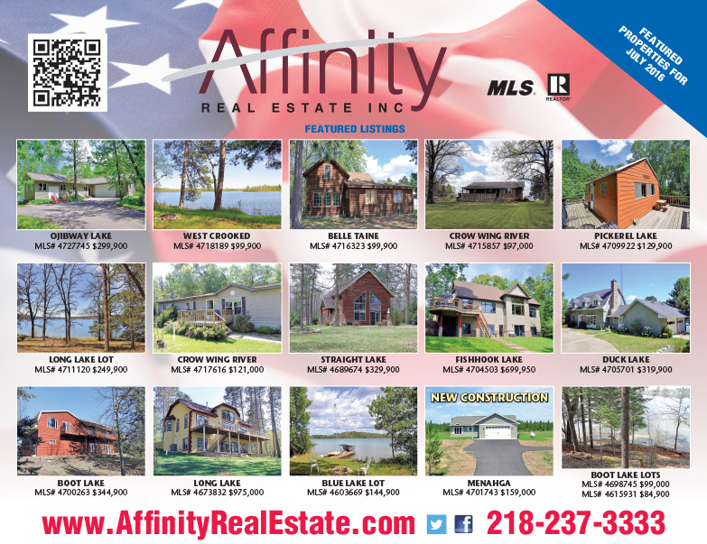 Affinity Real Estate We-Prints Plus Newspaper Insert, Any Door Marketing