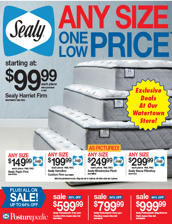 Slumberland Furniture We-Prints Plus Newspaper Insert, Any Door Marketing