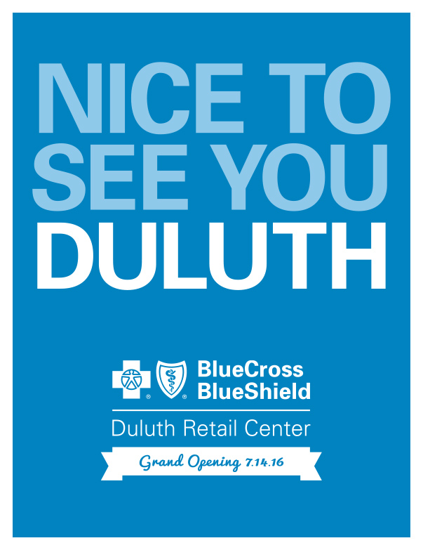 Blue Cross Blue Shield of Minnesota We-Prints Plus Newspaper Insert, Any Door Marketing
