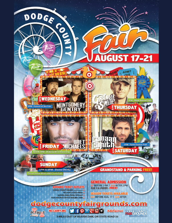 Dodge County Fair We-Prints Plus Newspaper Insert, Any Door Marketing