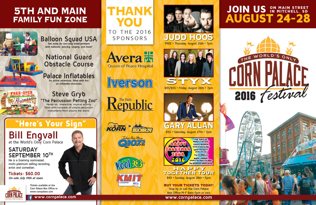 Corn Palace Festival We-Prints Plus Newspaper Insert, Any Door Marketing