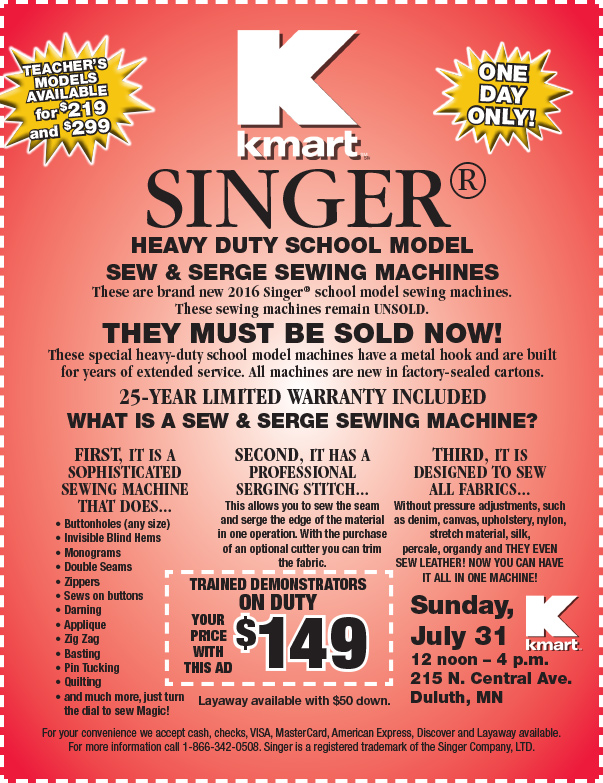 KMART We-Prints Plus Newspaper Insert by Any Door Marketing