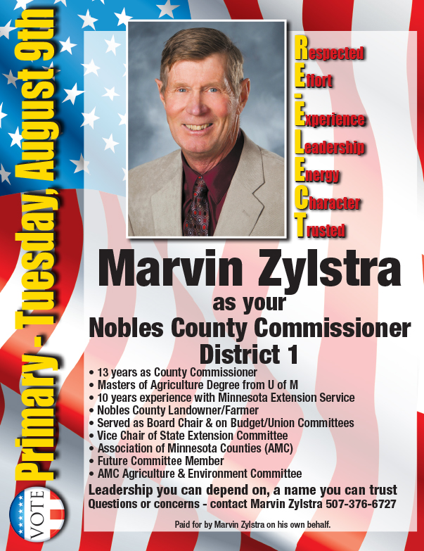 Marvin Zylstra We-Prints Plus Newspaper Insert, Any Door Marketing