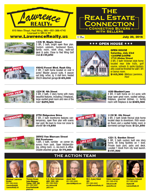 Lawrence Realty We-Prints Plus Newspaper Insert by Any Door Marketing