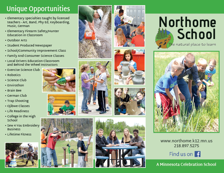 Northhome School We-Prints Plus Newspaper Insert, Any Door Marketing
