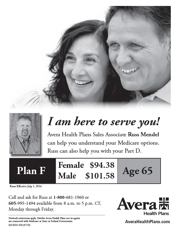 Avera Health Plans We-Prints Plus Newspaper Insert by Any Door Marketing