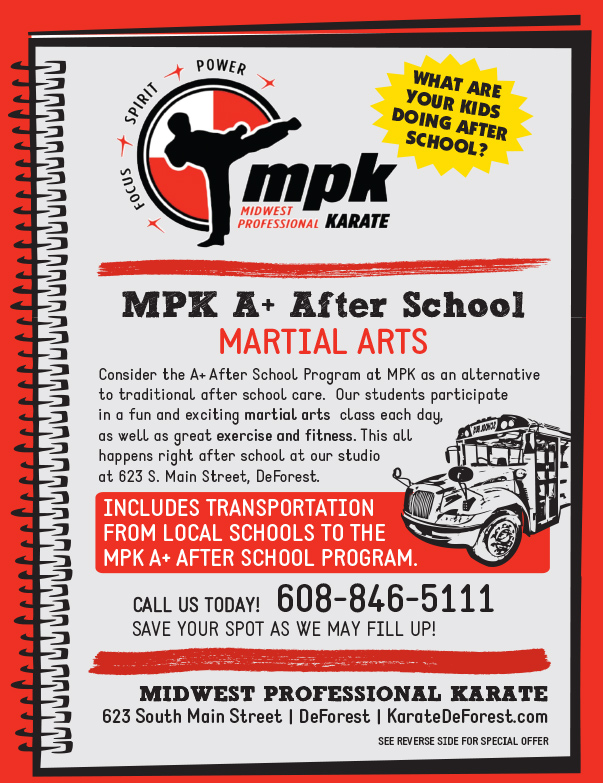 MPK Karate We-Prints Plus Newspaper Insert by Any Door Marketing