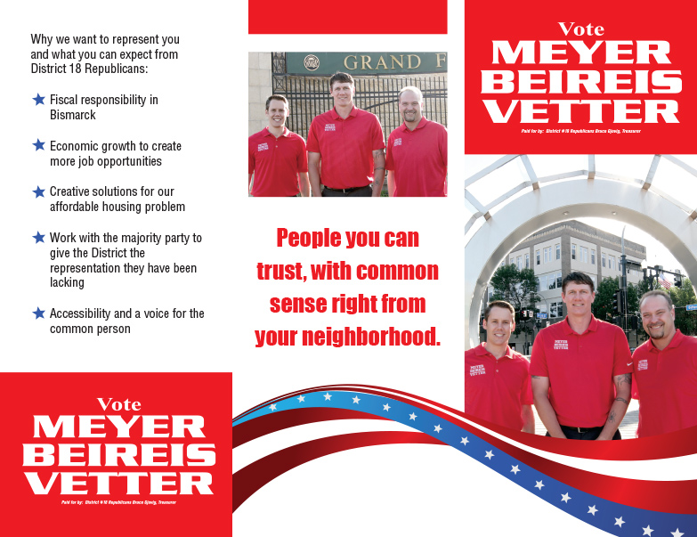 Meyers, Beireis, Vetter We-Prints Plus Newspaper Insert by Any Door Marketing