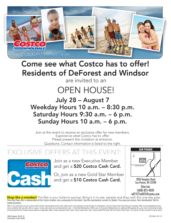 Costco We-Prints Plus Newspaper Insert by Any Door Marketing