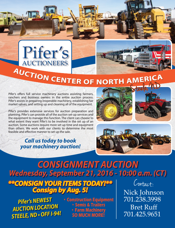 Pifer's Auctioneers We-Prints Plus Newspaper Insert by Any Door Marketing