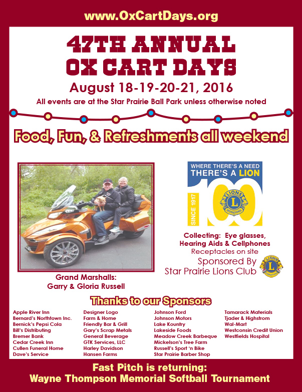 Ox Cart Days We-Prints Plus Newspaper Insert by Any Door Marketing