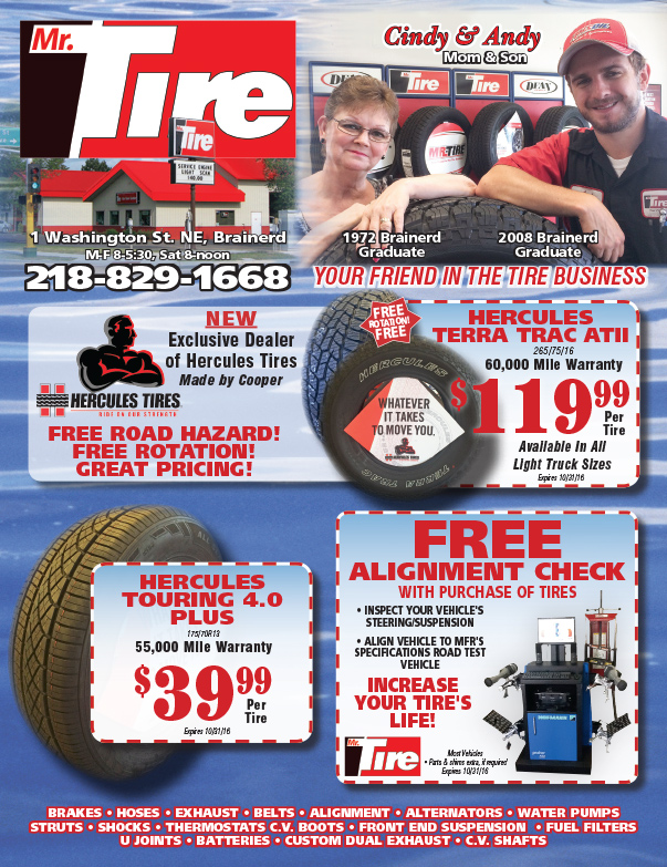 Mr Tire We-Prints Plus Newspaper Insert by Any Door Marketing