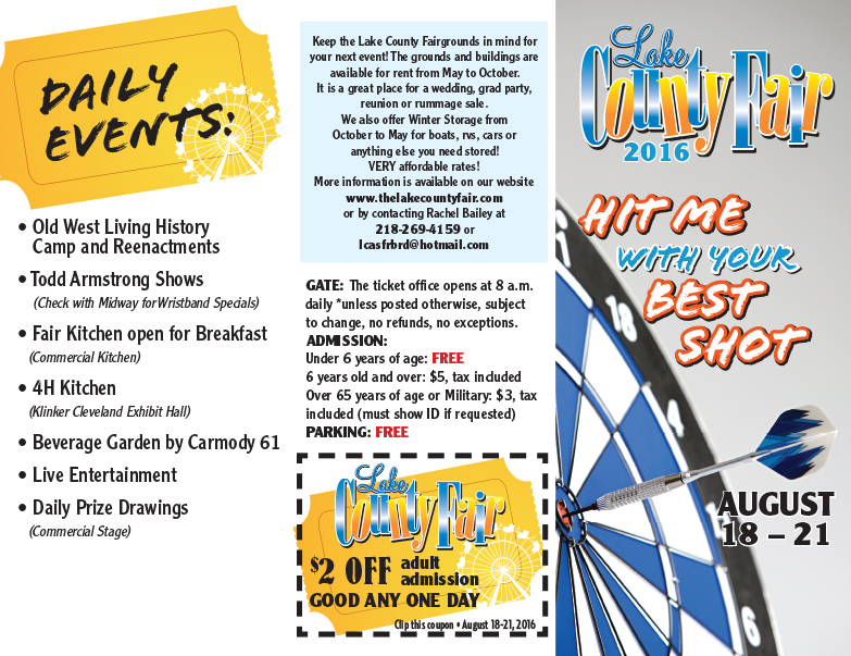 Lake County Fair We-Prints Plus Newspaper Insert by Any Door Marketing