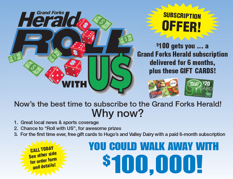 Grand Forks Herald We-Prints Plus Newspaper Insert by Any Door Marketing