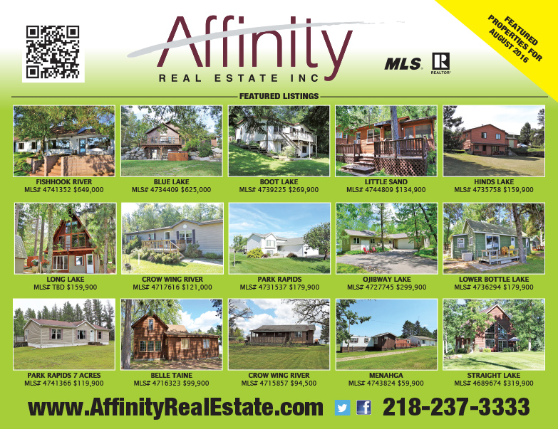 Affinity Real Estate We-Prints Plus Newspaper Insert by Any Door Marketing