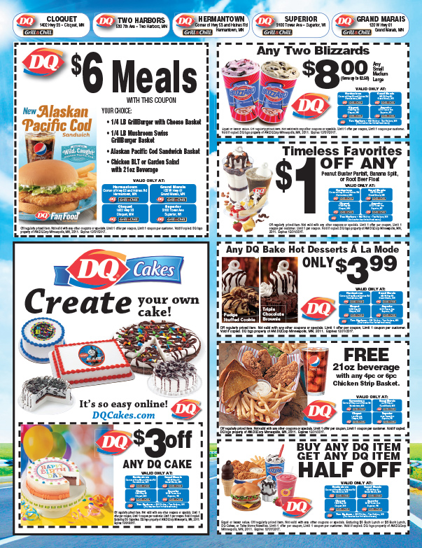 Dairy Queen We-Prints Plus Insert by Any Door Marketing