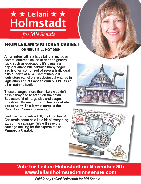 Leilani Holmstadt We-Prints Plus Newspaper Insert by Any Door Marketing