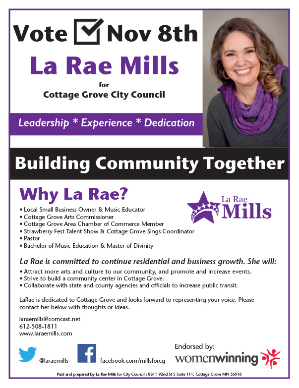 La Rae Mills We-Prints Plus Insert by Any Door Marketing
