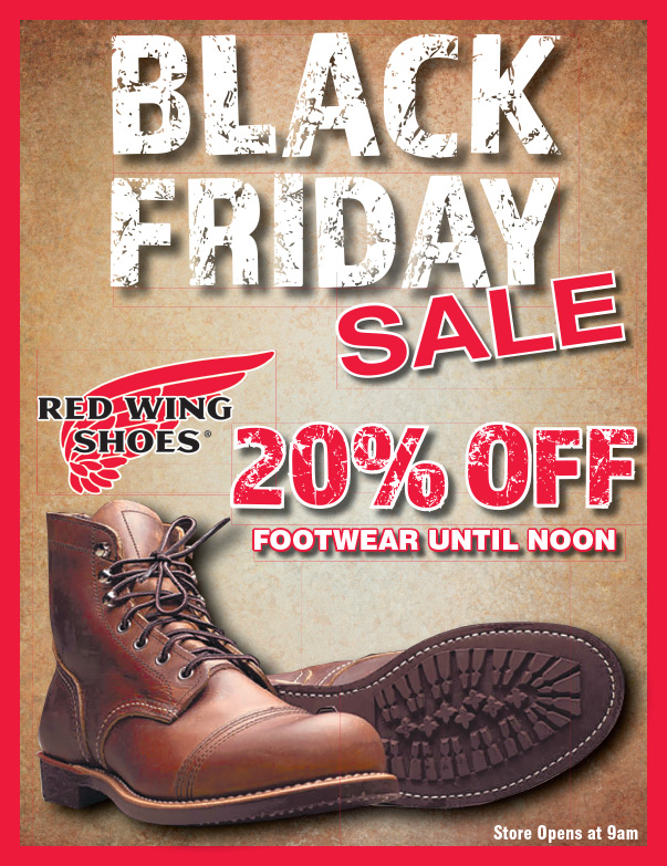 Red Wing Shoes We-Prints Plus Newspaper Insert by Any Door Marketing
