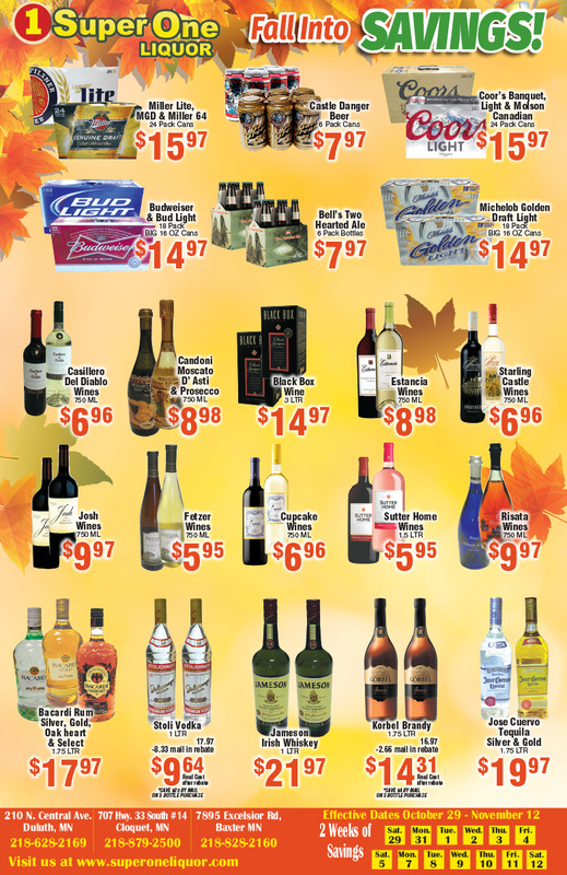 Super One Liquor We-Prints Plus Insert by Any Door Marketing