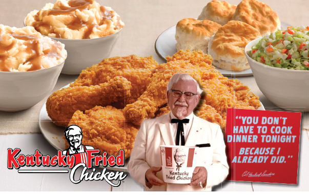 Kentucky Fried Chicken We-Prints Plus Insert by Any Door Marketing