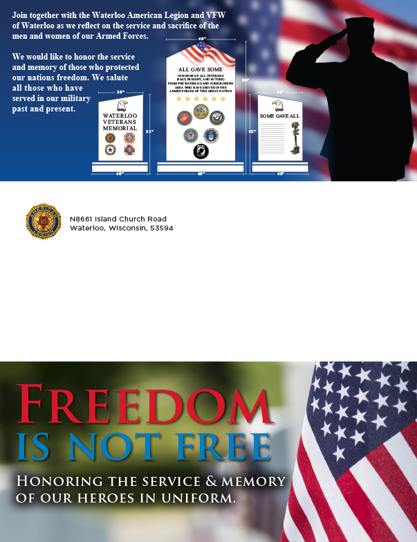 Waterloo American Legion We-Prints Plus Insert by Any Door Marketing