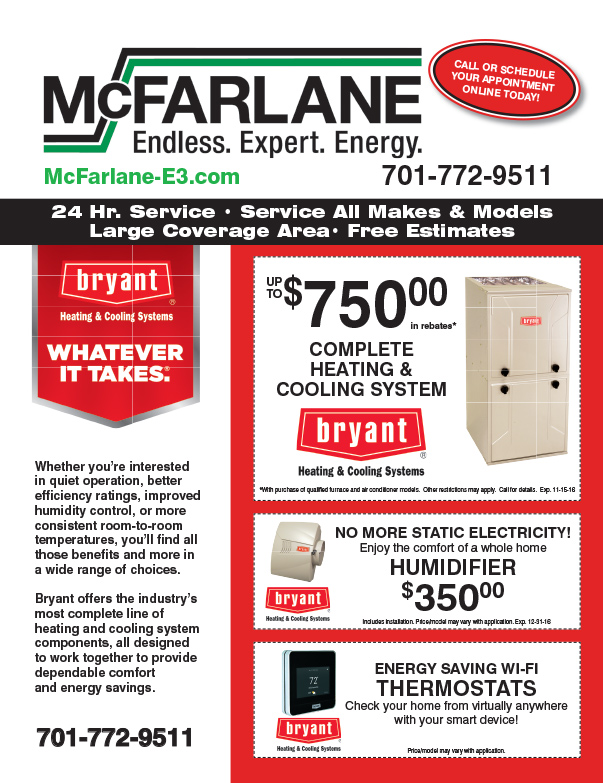 McFarlane Heating We-Prints Plus Insert by Any Door Marketing
