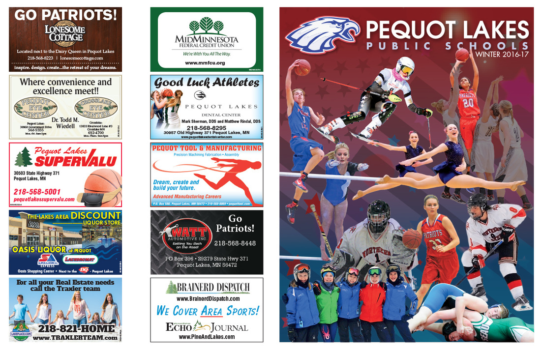 Pequot Lakes Public Schools We-Prints Plus Insert by Any Door Marketing