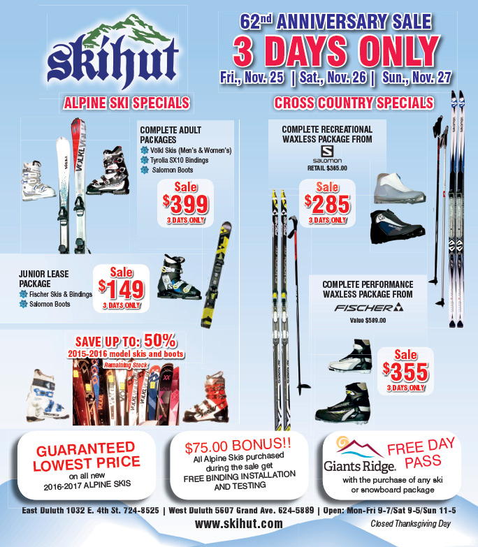 Skihut We-Prints Plus Newspaper Insert by Any Door Marketing