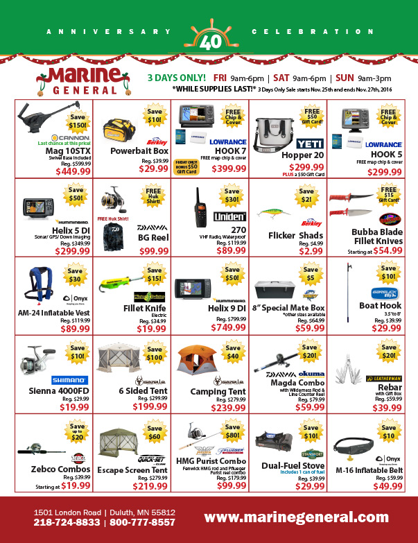Marine General We-Prints Plus Newspaper Insert by Any Door Marketing