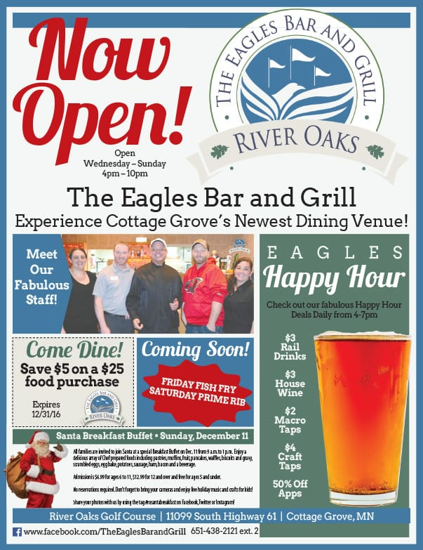 The Eagles Bar and Grill We-Prints Plus Newspaper Insert by Any Door Marketing