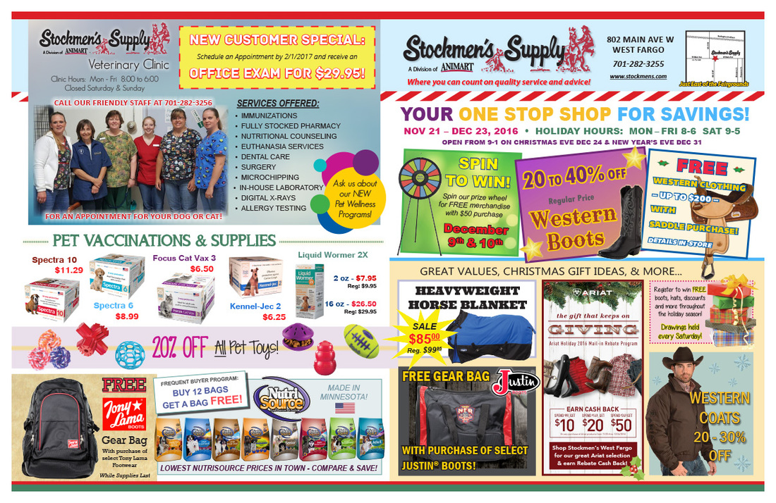 Stockmen's Supply We-Prints Plus Newspaper Insert by Any Door Marketing