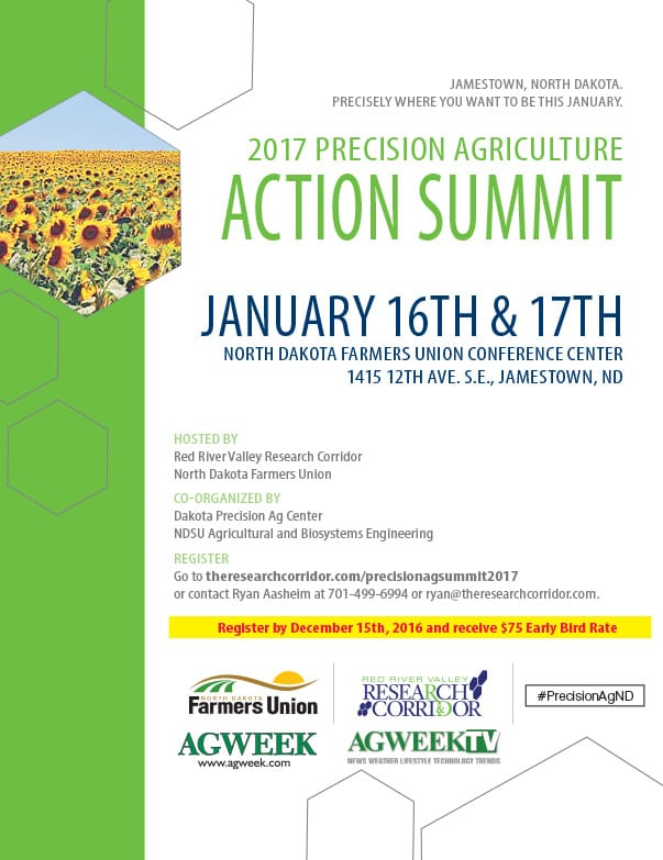 2017 Precision Agriculture Action SummitWe-Prints Plus Newspaper Insert by Any Door Marketing