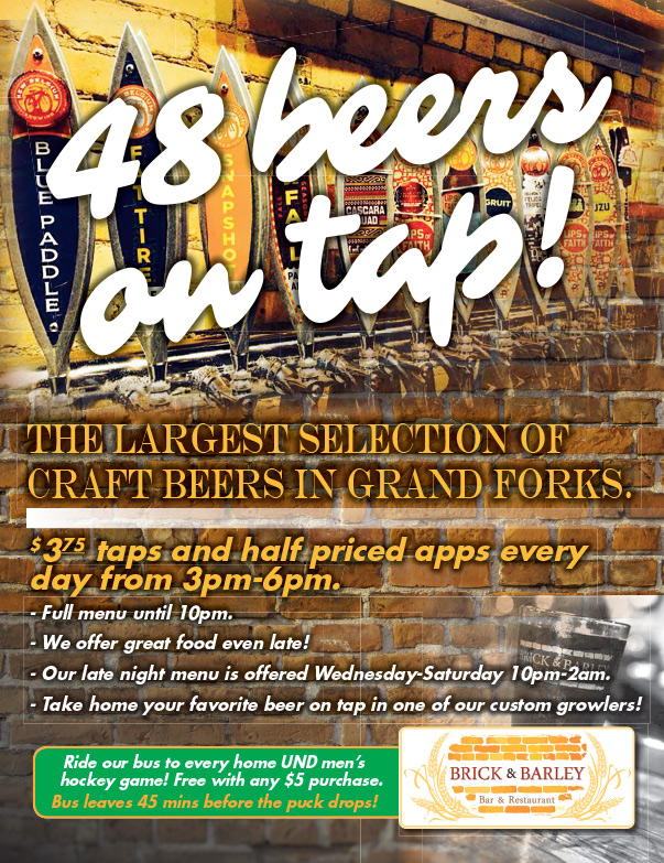Brick and Barley We-Prints Plus Newspaper Insert by Any Door Marketing