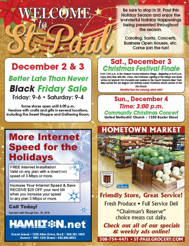 St. Paul MN We-Prints Plus Newspaper Insert by Any Door Marketing