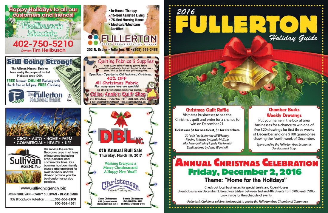 Fullerton NE We-Prints Plus Newspaper Insert by Any Door Marketing